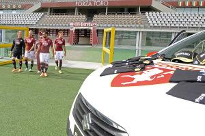 Backstage foto squadra Torino Fc stagione 2014 2015 - Stadio Olimpico di Torino.