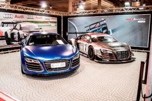 AME 2013 stand Audi Sport Club