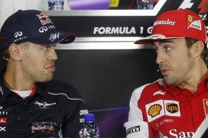 Alonso - Vettel