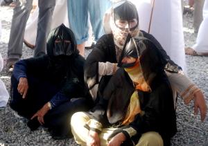 Sinaw - donne con la maschera