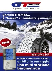 GT Radial Promo stazione Barometrica