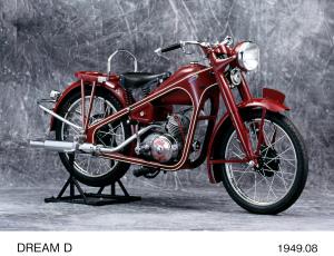 Honda Dream Type-D 1949