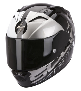 Scorpion Exo1200air Quarterback Black-White-Silver
