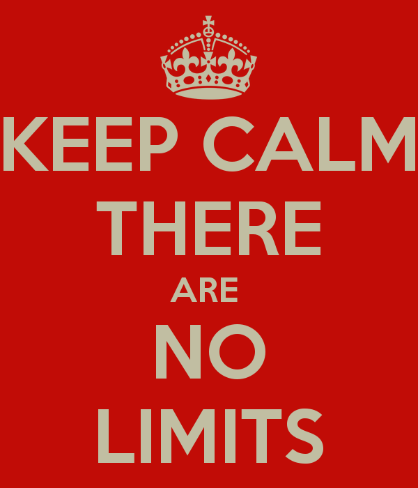 keep-calm-there-are-no-limits