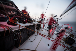 December 9, 2014. Leg 2 onboard MAPFRE. Spooky things are happening onboard.