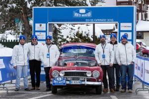 Scuderia Volvo alla Winter Marathon 2015:  Con l?arrivo dell?asso della Regolarità Nino Margiotta e la riconferma di Ivan Capelli, Volvo punta al primato assoluto