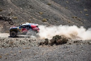 Stephane Peterhansel  during stage 4 of Rally Dakar 2015 from Chilecito to Copiapo on January 7th, 2015