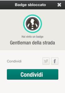 Arval_Smart_Experience_APP DRIVE CHALLENGE_Badge sbloccato