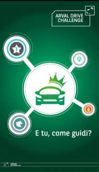 Arval_Smart_Experience_APP DRIVE CHALLENGE_Homepage