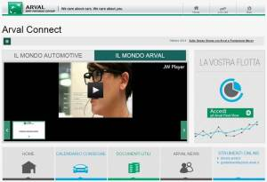 Arval_Smart_Experience_ARVAL CONNECT_Homepage