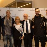 Inaugurazione TridenteClub_Federico Peluso, Paolo Cannavaro, Mariangela Barbieri, Antonio Barbieri, Andrea Consigli,Antonio Floro Flores