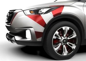 Nissan Kicks Concept feito pelos designers da marca para homenag
