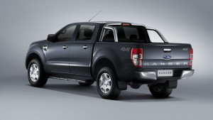 New Ford Ranger_Rear