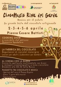 manifesto Chocomusic a Riva del Garda