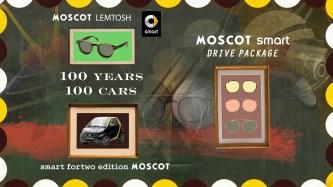 smart MOSCOT Kooperation 2015 // smart MOSCOT collaboration 2015