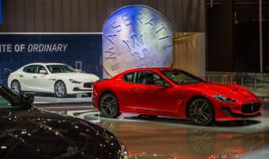 Maserati at Shanghai Auto Show 2015_GranTurismo MC Stradale Centennial Edition