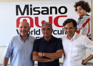 Da sx Armando Castagna - Federico Capogna - Andrea Albani