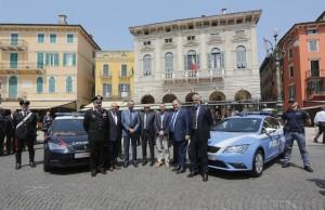 media-SEAT Leon_Cerimonia di consegna ufficiale delle vetture alle Forze dell'Ordine a  Verona (3)