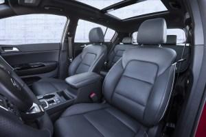 allnew kia sportage interior seats