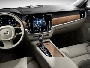 Interior cockpit Volvo S90