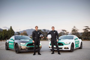 Castrol Virtual Racers - Matt Powers (sinistra) e Ben Collins (destra) p...