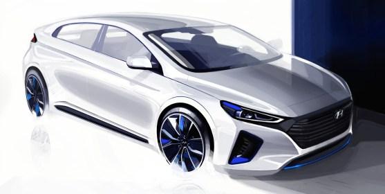 esterni Nuova Hyundai Ioniq