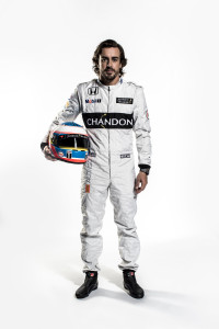 Fernando Alonso Full Length Portrait_