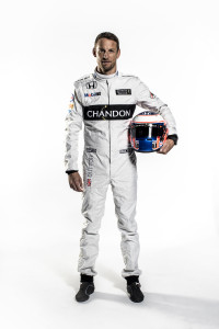 Jenson Button Full Length Portrait_