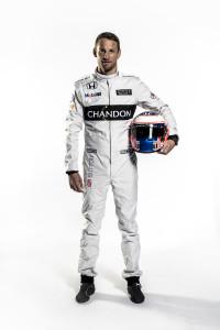 Jenson Button Full Length Portrait_
