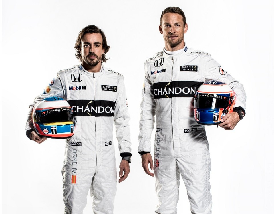 Fernando Alonso & Jenson Button Portrait 2