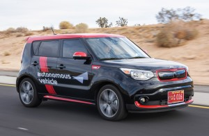 kia soul ev autonomous vehicle_driving