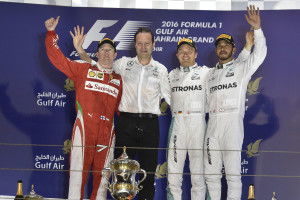 GP BAHRAIN F1/2016 podio