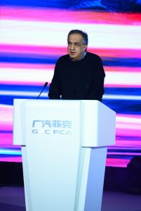 Sergio Marchionne, Chief Executive Officer of Fiat Chrysler Automobiles N.V.