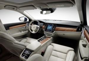 Interior cockpit Volvo S90/V90 blond