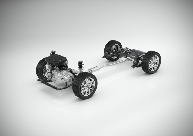 CMA with 3-cylinder powertrain - 3/4 view