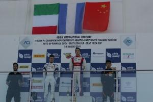 IF4C 2016 Adria podio Gara 3