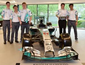 Union-Racing-International-visit-MERCEDES-AMG-PETRONAS-F1-Team