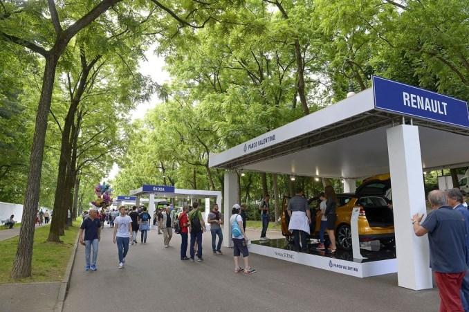 Salone dell'Auto Torino, Parco Valentino