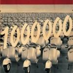 1956 1 milione Vespa