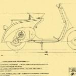 disegno Vespa 98