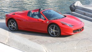 Ferrari 458 cabrio