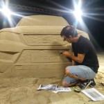 media-La SEAT Ateca porta la spiaggia in aeroporto a Barcellona (6)