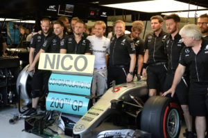 nico 200 GP SINGAPORE F1/2016