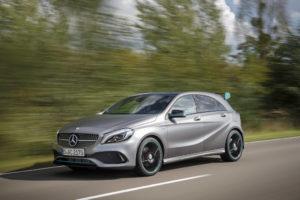 Fahrveranstaltung Mercedes-Benz die neue A Klasse und Mercedes-AMG A45 4MATIC / Dresden 2015