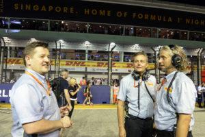 hembery isola GP SINGAPORE F1/2016