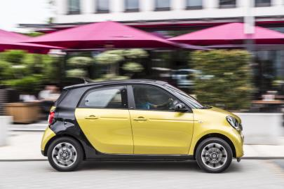 smart fortwo / forfour DCT Turbo, Cologne 2015
