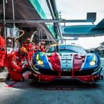 CAR #71 / AF CORSE / ITA / Ferrari 488 GTE – WEC 6 Hours of Shanghai – Shanghai International Circuit – Shanghai – China