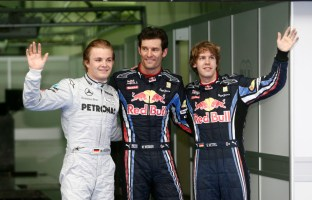 First Silver Arrows Front Row Grid Slot - Malaysia 2010
