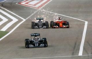 100th Silver Arrows Race Start - Bahrain 2015