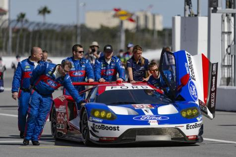 The team qualified p1-2-3 in GTLM
